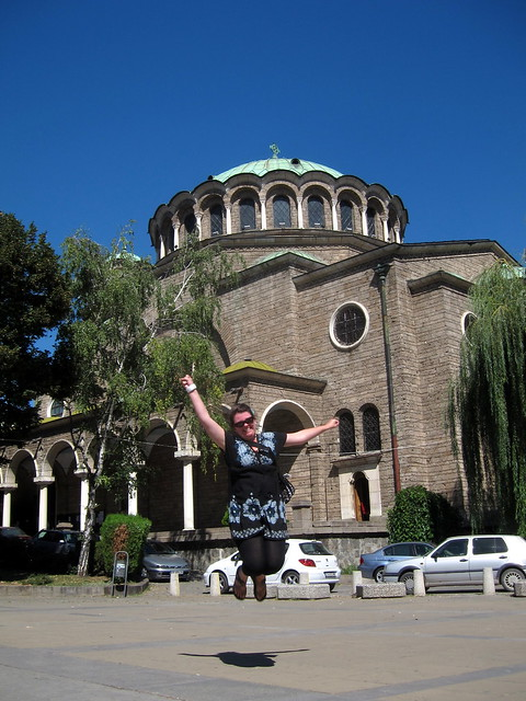 Jumping in Sofia