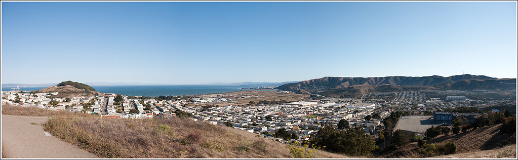 250 of 365 - Mclaren Park, San Francisco Pano.