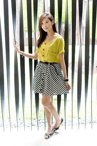 Yellow Blouse § Wearhouse