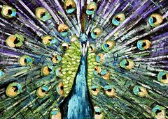 Detail, the Peacock (Il colorista) Tags: pets green chickens birds animals gardens countryside arte purple peacock campagna aia cortile polli  tacchino   alimentazione greatcolor