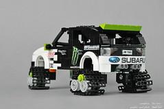 Subaru WRX (4) (pitrek02) Tags: town lego ken block gymkhana moc kulik lugpol