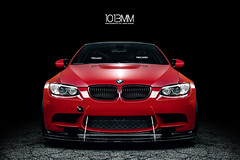 Ricky's Track BMW M3 (1013MM) Tags: light red car painting nikon track euro super m lap bmw beamer m3 dtm coupe f28 jdm volk motorsport bimmer 2470mm varis te37 e92 1013mm canibeat