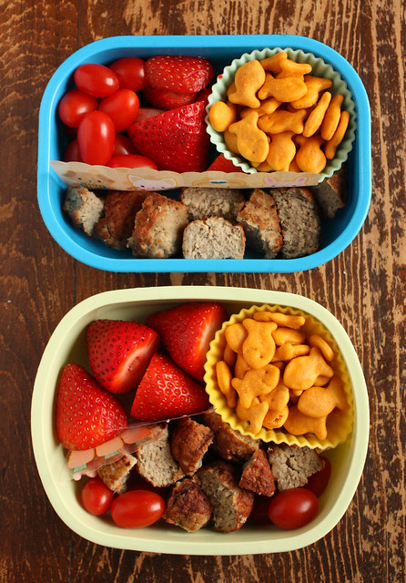 Preschooler and Second Grader Bentos #475