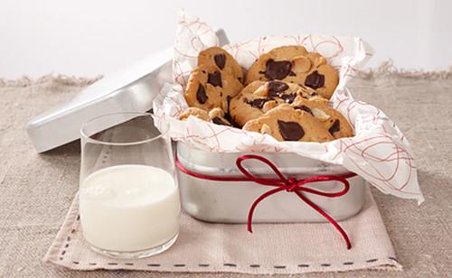 Macadamia-Schoko-Cookies