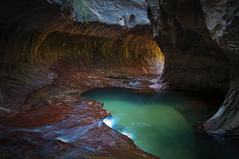 The Subway, Zion N.P. (C0RY) Tags: southwest pool subway landscape utah sandstone canyon emerald zionsnationalpark