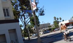 Biker on Glassell and Maple (TheJudge310) Tags: california street shadow shirtless orange man cars corner maple biker streetcorner streetshot streetcorners buildingshadows glassell shirtlessguy orangecalifornia guyonabike shirtlessbiker