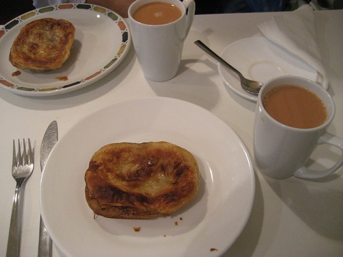 Pie and a cuppa - bliss
