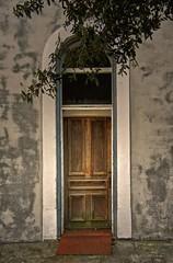Stewart Building Side Doorway, ca. 1860:  Downtown Tarboro, NC (EdgecombePlanter) Tags: entrance oldhouse olddoor woodendoor