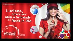 Rock in Rio Luciana Backlit newstand Coca-Cola - Rio de Janeiro (roitberg) Tags: riodejaneiro cola outdoor ad coke billboard anuncio copacabana cocacola coca rockinrio