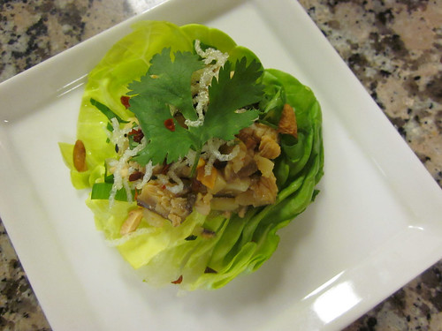 finished lettuce cup