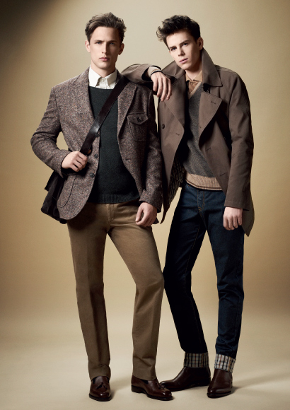 DAKS FW11_017Laurent Albucher&Jeremy Young