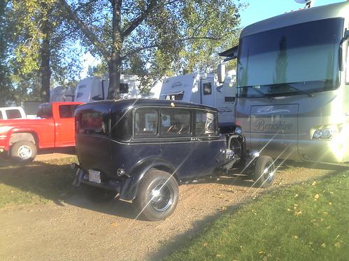L'auto du jour : Black Hot Rod