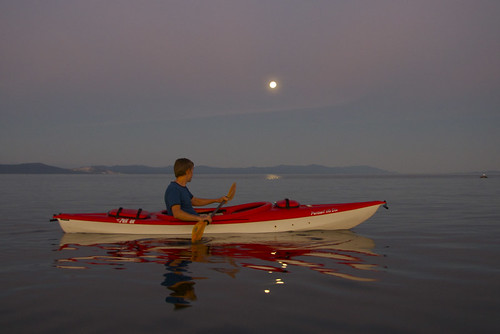 Kayaking by Moonlight