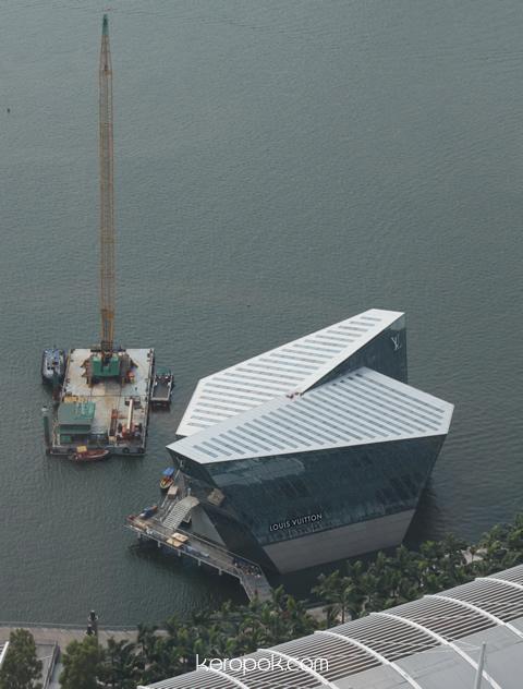 Louis Vuitton Island Maison Singapore