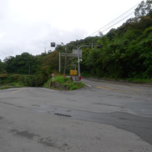 北宜路上的三叉路-石碇、坪林、新店