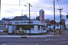 Wympee - Dayton, OH. (Wires In The Walls) Tags: ohio closed exterior phonebooth streetscene 1981 1980s dayton sohio wympee uniroyal bygone wympees warehousepaintcenters tacketttiresales