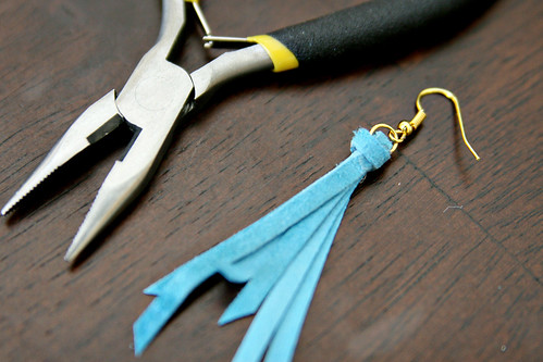 Anthro Tassle Earrings 11