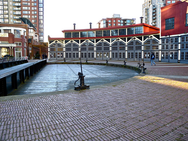 Roundhouse Community Arts & Recreation Centre. Yaletown