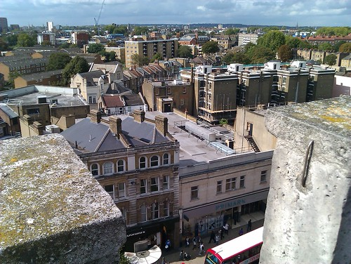 View on Hackney from the St. Augustine's tower