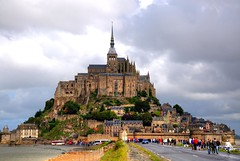 Le Mont-Saint-Michel (Shertila Tony) Tags: sky france abbey weather island europe day view cloudy tourist worldheritagesite normandy hdr manche montsaintmichel avranches yahooweather platinumheartaward oltusfotos bestcapturesaoi mygearandme mygearandmepremium flickrstruereflection1