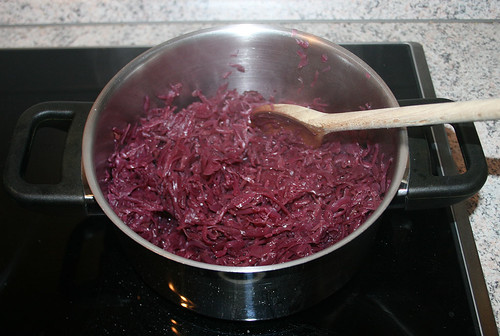 32 - Rotkohl kochen