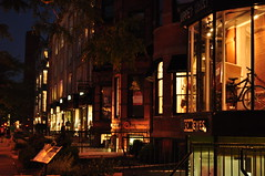 Newbury Street shops and dining (awalls37) Tags: boston shopping newburystreet dining nightlife backbay