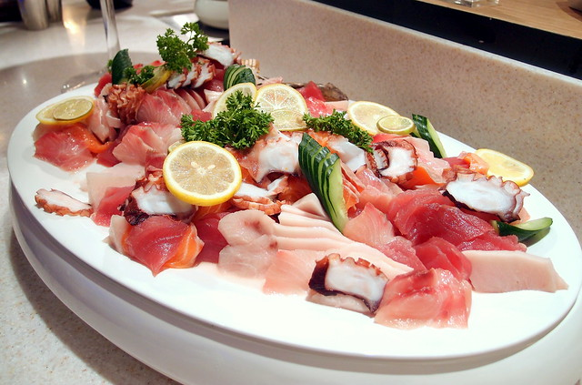 Buffet Town Sashimi Selection