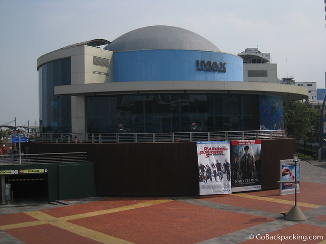 IMAX Theater on the Malecon 2000