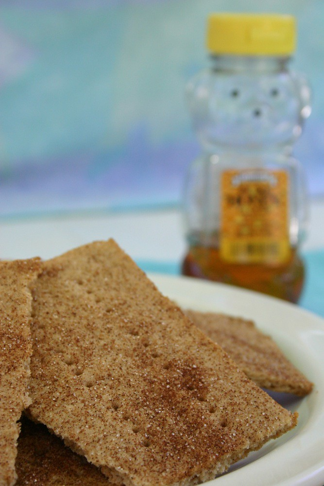 Jesicakes: Gluten Free Cinnamon Sugar Graham Crackers