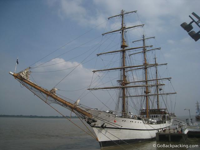 Guayas sailboat
