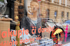 a shop in prague