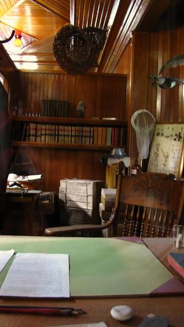 Sanson's office.