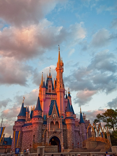 Magic Hour In Magic Kingdom by DisHippy