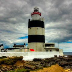The oldest lighthouse in the British isles