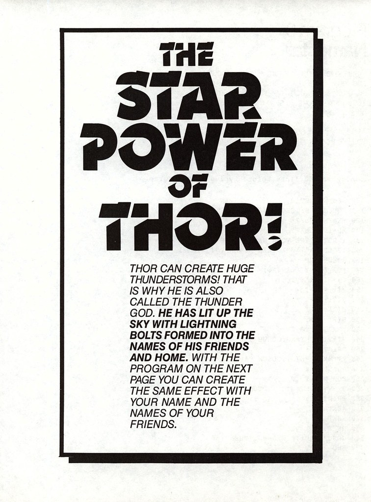 Star Power of Thor