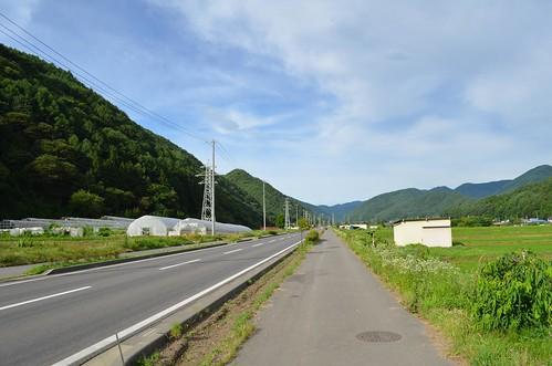 ビーナスラインから上田に抜ける辺り