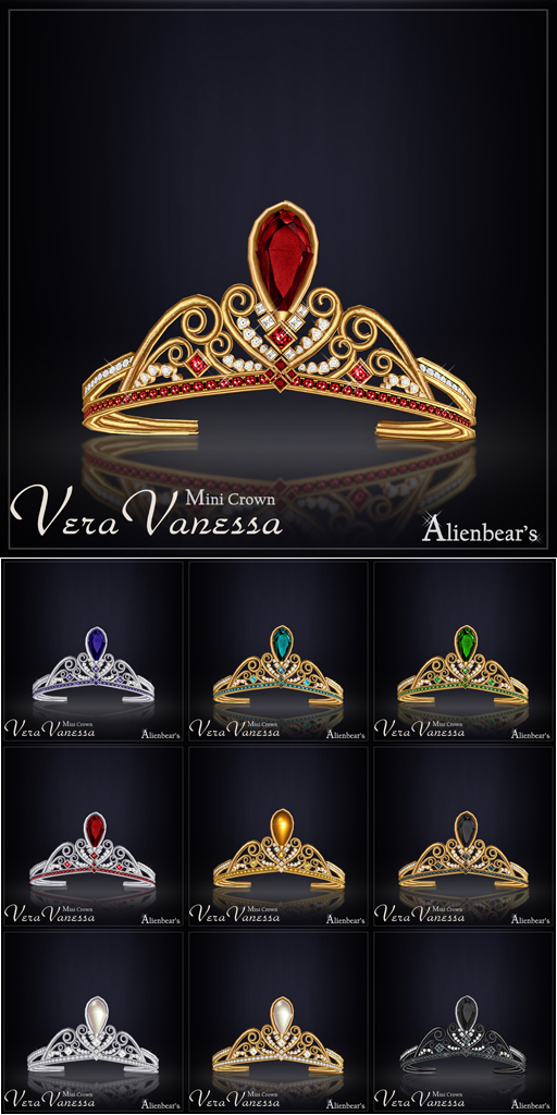 Vera Vanessa Mini Crown all