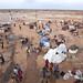 Aankomst van vluchtelingen in kamp Dolo Ado