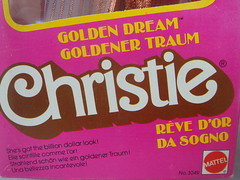 "Barbie superstar era: CHRISTIE GOLDEN DREAM, italian version "" Christie da Sogno "" steffie face mold in AA variant with golden glows, made in Taiwan, 1980 - box - (nicolenicole) Tags: italy canada star golden italian europe european version dream barbie super canadian era africanamerican christie foreign superstar 80 1980 exclusive mattel aa 80er jewel steffie variant gioielli diamanti madeintaiwan differentversion goldendream barbiesuperstar superstarera pietradorata steffiefacemold christiesuperstar christiegoldendream christiedasogno goldenertraum revedor orangestonejewel"
