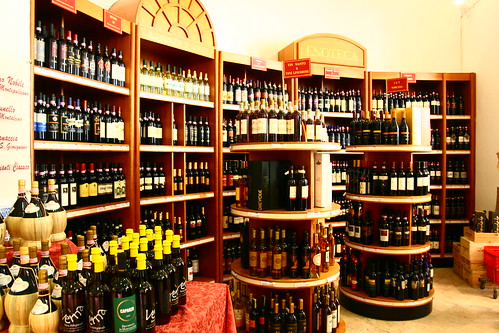 The store at Consorzio Agrario di Siena
