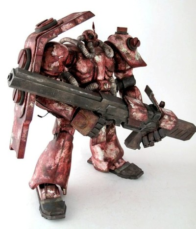 3A x Zaku colorized..!