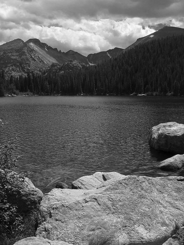 Bear Lake B&W