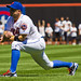 David Wright stretches