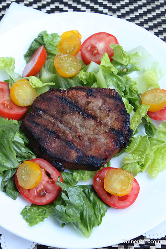 Day 223 - Steak Tomato Salad