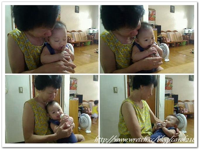 20110707小小wei喝水