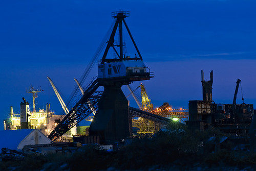 Blue industry  by petetaylor
