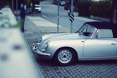 356 (Raoul Automotive Photography) Tags: old italy car silver grey star sony tripod 911 wide band convertible 1600 filter german porsche mm 1855 alpha dslr 50 cabrio hama dt circular 61 pl 356 55200 kenko a230 polarisation naturns naturno a230l