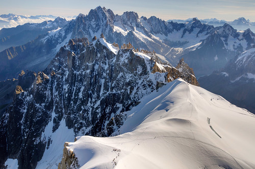From Chamonix to Courmayer - Aiguille du Midi 45