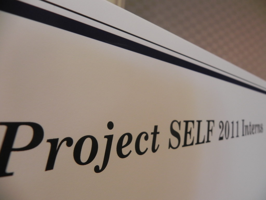 Day 215 - project SELF
