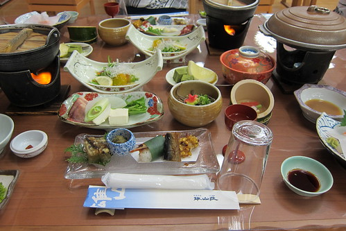 里湯昔話 雄山荘 一日目夕食 #2